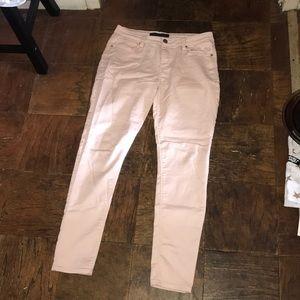 Tinsel denim light pink jeans. Size 29. Like new
